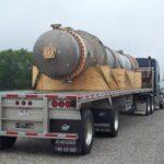 Tricor Pressure Vessel on truck