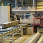 Billet sawing in Behrgr