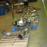 Spooled piping parts