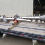 Ti4 Conveyor Screw for Bromide Svce