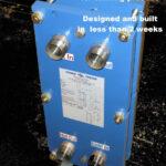PHE Small Steam Heater